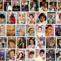 Une mosaïque de plusieurs couvertures de Paris Match.