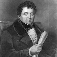 Portrait peint du militant et homme politique irlandais Daniel O'Connell vers 1825.