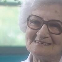 La militante et syndicaliste Léa Roback en 1993.