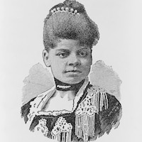 Illustration de la journaliste afro-américaine Ida B. Wells.
