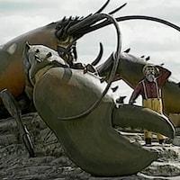 Shediac possède la plus grande statue de homard au monde.