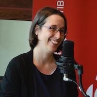 Marie-Ève Maillé au micro de Région zéro 8