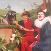Fergus, Suzanne Pinel (Marie-Soleil) et le clown Samuel
