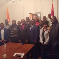 Des membres de Fédération des associations ivoiriennes du Canada