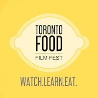 Affiche promotionnelle du Toronto Food Festival. On y voit un logo de citron et le slogan «Watch.Learn.Eat.».