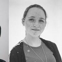 Portraits de trois jeunes femmes