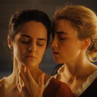 Un scène du film <i>Portrait de la jeune fille de feu</i> de Céline Sciamma.