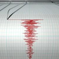 Un sismographe s'active pendant un tremblement de terre.