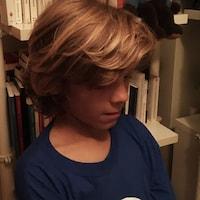 Miro, 11 ans, partage ses goût musicaux.