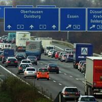 Une autoroute allemande.