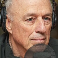 Charles Binamé et Alain Trudel au micro de Catherine Perrin.