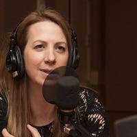 La comédienne et auteure Mélanie Maynard