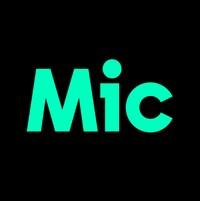 Le logo du site américain Mic.