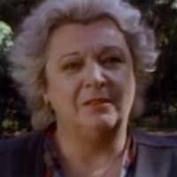 Lise Payette dans <i>Disparaître</i> en 1989.
