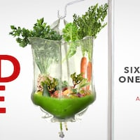 L'affiche du documentaire <i>The Food Cure</i>