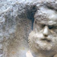 Cette sculpture de Victor Hugo est exposée à San Francisco, en 2007.