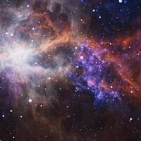 Des étoiles et planètes forment des regroupements.