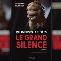 Couverture avec le titre du livre et le nom de l'auteure.