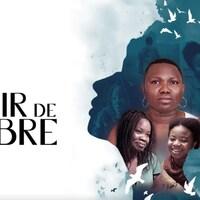 Affiche avec le titre du film montrant les visages de plusieurs femmes africaines.