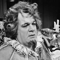 Louis Quilico interprétant le rôle de Rigoletto en 1979.