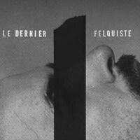Sur l'affiche de la série Le dernier felquiste, Mario Bachand est couché de côté.