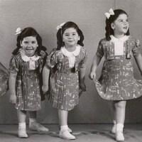 Les soeurs Dionne en 1939