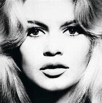 Brigitte Bardot photographié par Richard Avedon (détail)