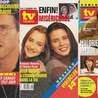 Trois couvertures du TV Hebdo.