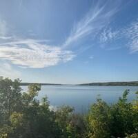 Coup d'oeil sur le lac du parc provincial de Buffalo Pound. (archives)