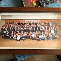 Une photo de famille avec presque 200 membres de la famille Sirois