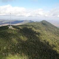 Le mont Mégantic.