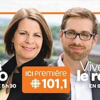 La station 101,1 est numéro un en Estrie.