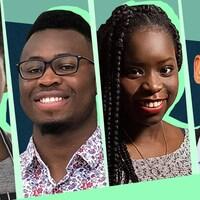 Kevin-Koudbi Lapierre, Mohamed Camara, Carmelle Amoussou et Etienne Mamadou Bertrand.