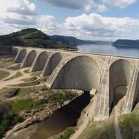 Le barrage Daniel-Johnson, inauguré il y a 50 ans est sous haute surveillance.