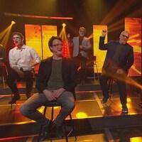 France Castel chante pour Vincent-Guillaume Otis, Sébastien Delorme et Gildor Roy.
