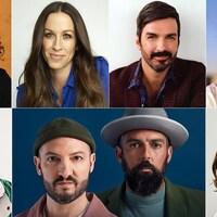 Alexandra Stréliski, Alanis Morissette, Damien Robitaille, Charlotte Cardin, Loud, Radio Radio et Sarah McLachlan.