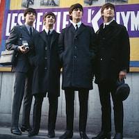 De gauche à droite : Paul McCartney, Ringo Starr, George Harrison et John Lennon, le 17 janvier 1964.