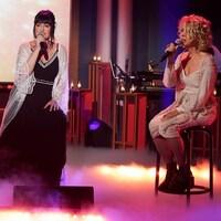 Trois femmes qui chantent.