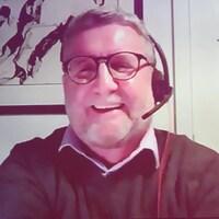 Régis Labeaume participe à Tout le monde en parle par visioconférence.