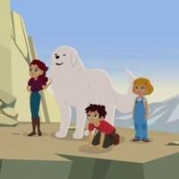 Ils sont à la montagne avec deux de leurs amis