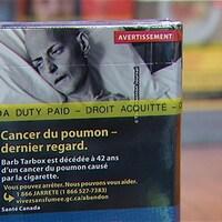 publicité sur les paquets de cigarettes