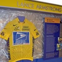 Maillot de Lance Armstrong à Thunder Bay