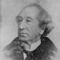 Portrait de John A. MacDonald.
