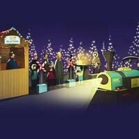 Embarquez dans la magie de Noël grâce au Grand marché de Noël de Montréal et VIA Rail