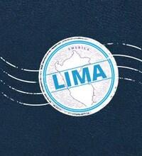Un logo circulaire avec le mot LIMA au centre.