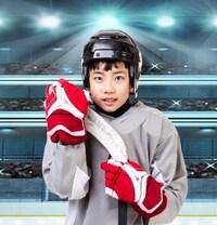 Une jeune hockeyeur pour le concours gagner l'un des cinq Régimes enregistrés d'épargne-étude(REEE) d'une valeur de 1 000$ chacun.
