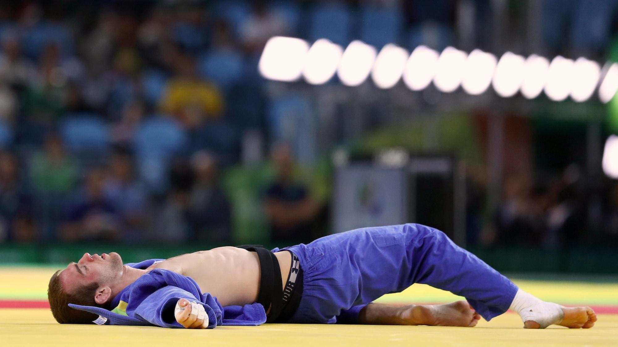Antoine Valois-Fortier a été éliminé rapidement des Jeux olympiques de Rio.