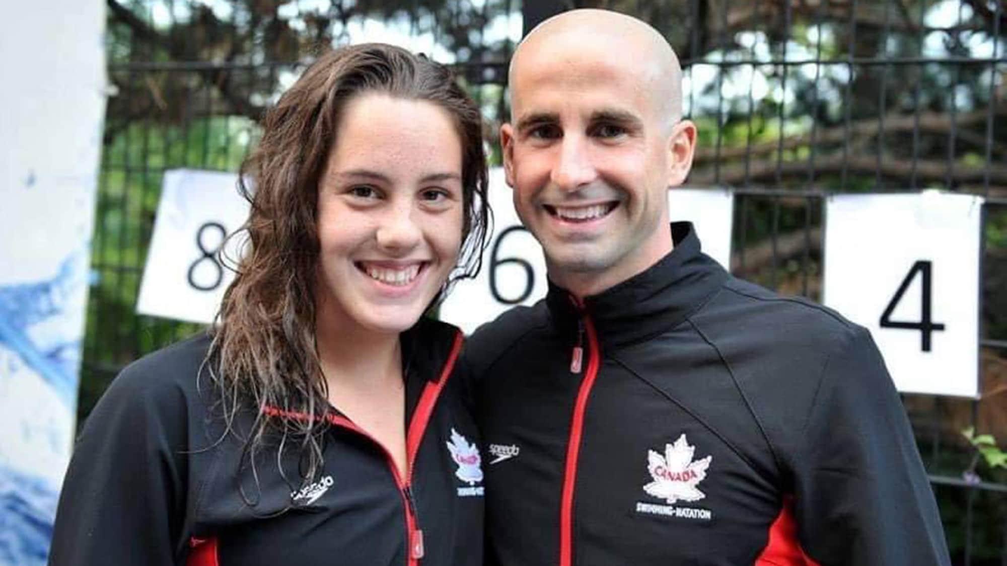 Aurélie Rivard et Benoît Huot sourient côte à côte.