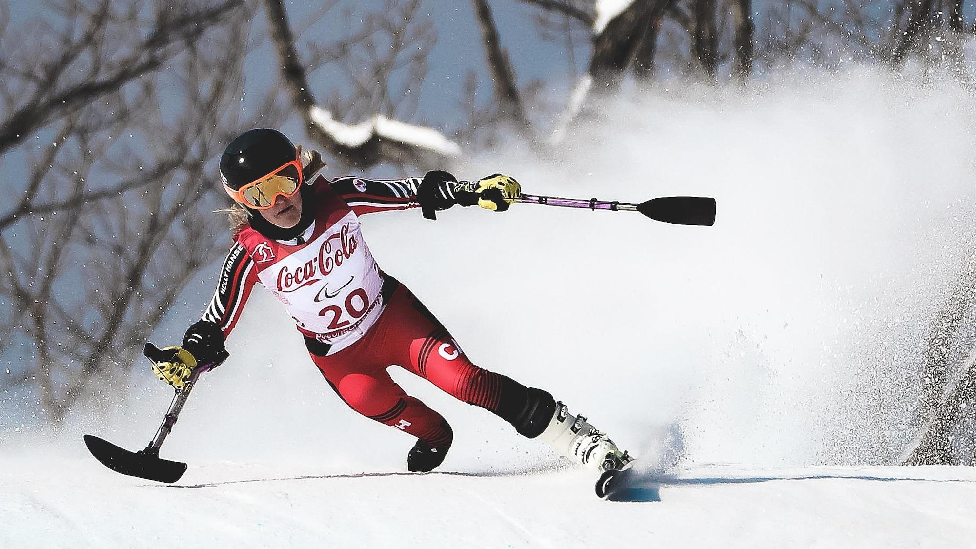 Frédérique Turgeon aux Jeux paralympiques de Pyeongchang