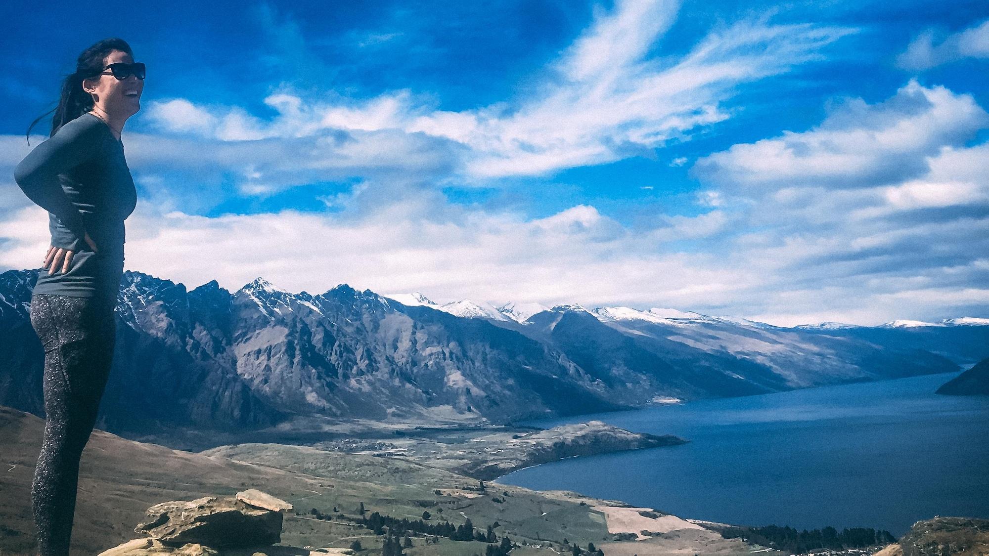 Marie-Lou Morin en Nouvelle-Zélande